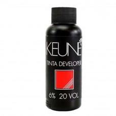 Keune Água Oxigenada Tinta Developer 6% 20 vol. 60ml