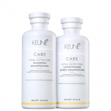 Kit Keune Care Vital Nutrition - Shampoo 300ml + Condicionador 250ml
