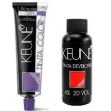 keune kit tinta color  plus 6.00 + água oxigenada 20 vol 60ml